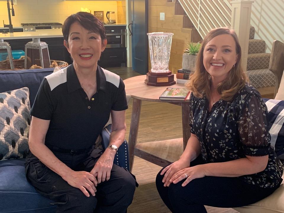 Vera Koo and Julie Golob