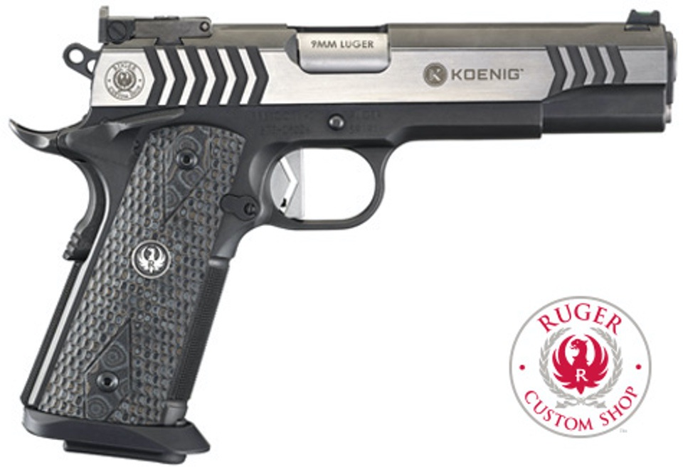 Ruger SR1911 Competition in 9mm MSRP: $2499.00