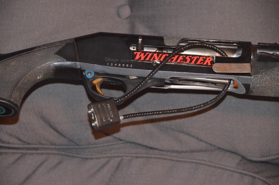 Project ChildSafe Free gun lock shotgun
