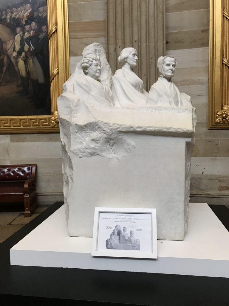Suffrage Movement monument