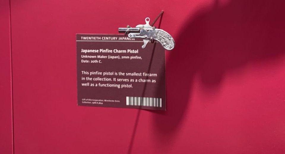 pinfire charm pistol Cody Firearms Museum