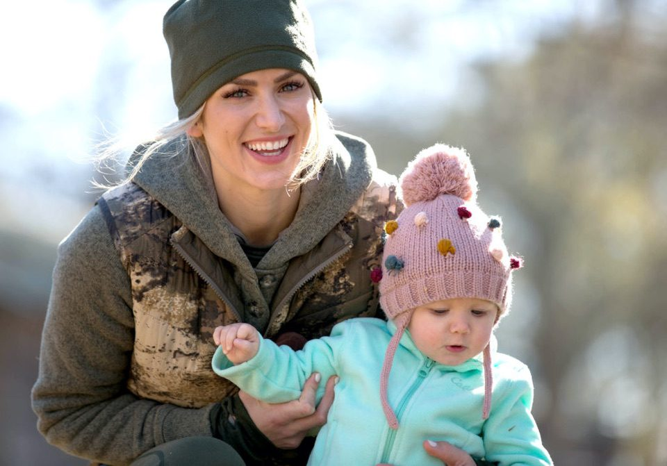 Leni and Eva Shockey Raising Outdoor Kids