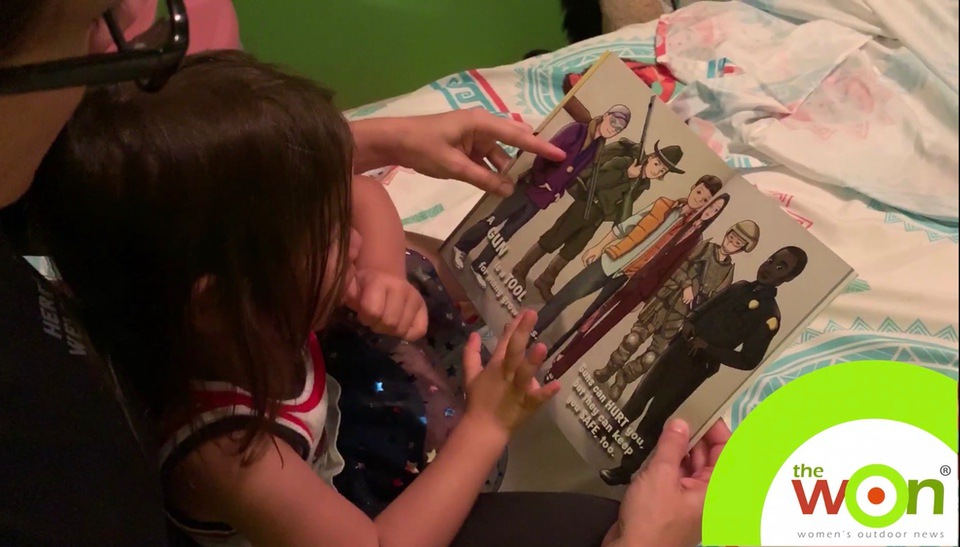 PCS firearm book little girl Firearm Safety in Your Home
