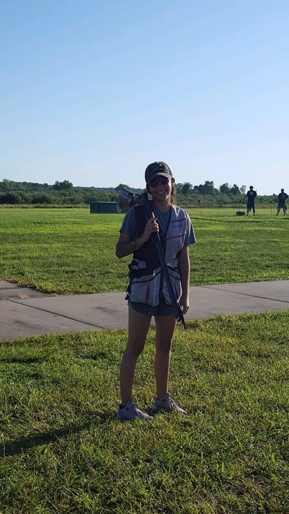 Shelby Odom Summer Shooting Sports Shooting in Hot Weather Competition shooters