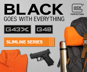 Glock everything goes with black, g48 g43x a perfect fit and designed for comfort with maximum value also available in the Glock Blue Label Program.