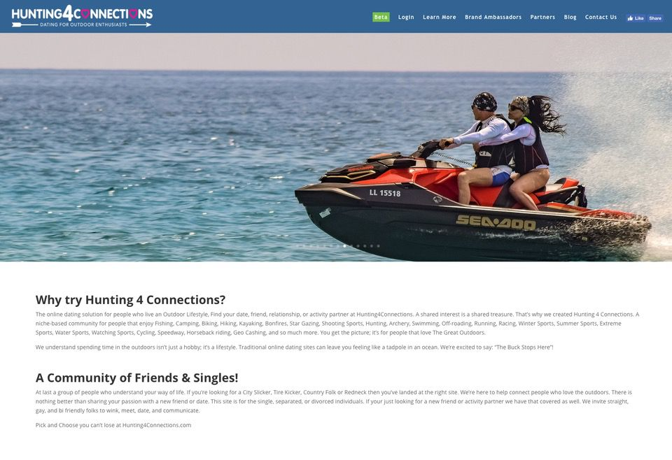 Hunting4Connections jetski H4C