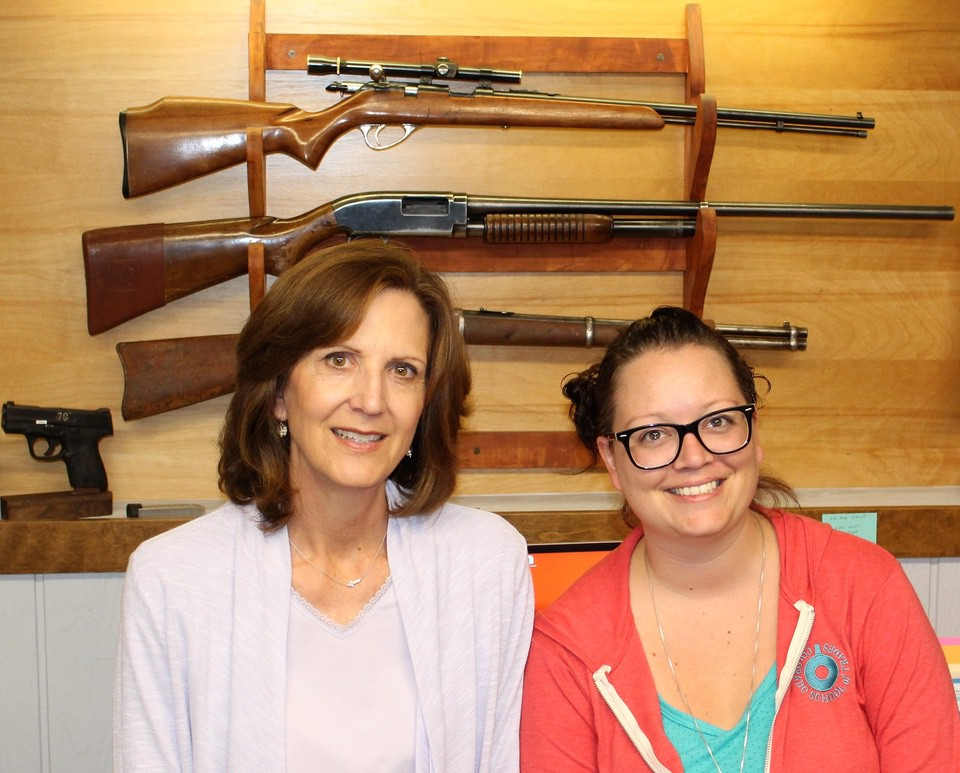 Jean and Jessie of Colorado gunsmith school
