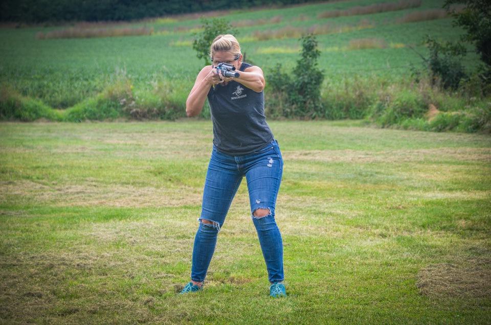 Shotgun Stance Yackley Teaching Kids Good Gun Handling Habits - The Shotgun