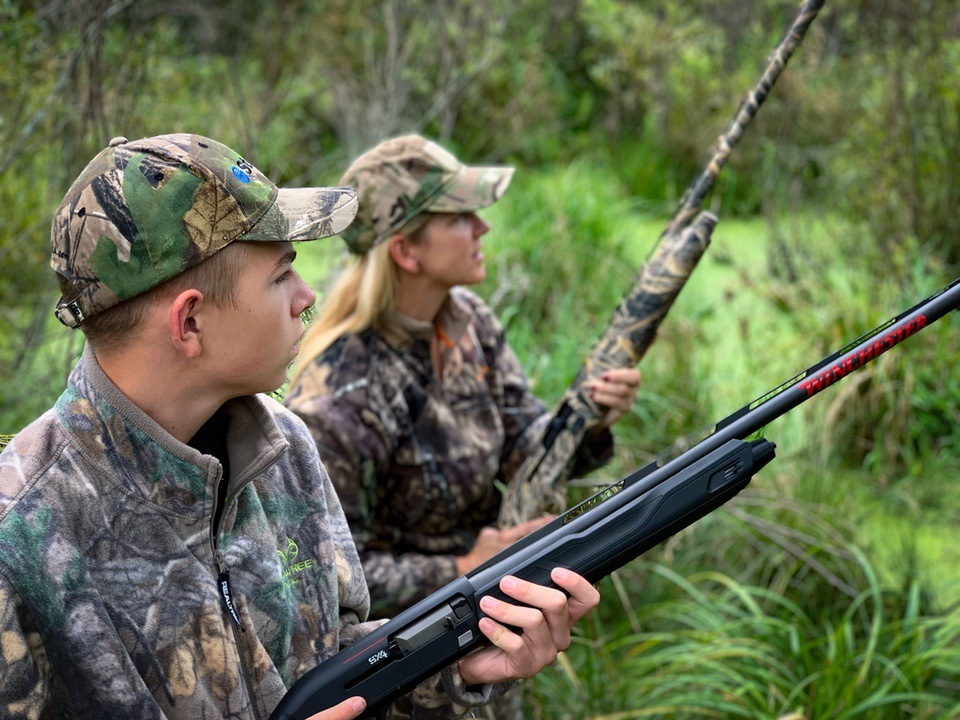 Swinging a shotgun Yackley hunting Teaching Kids Good Gun Handling Habits - The Shotgun