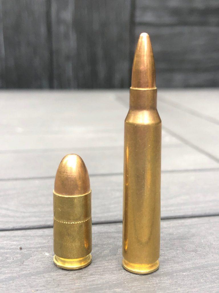 pistol rifle round