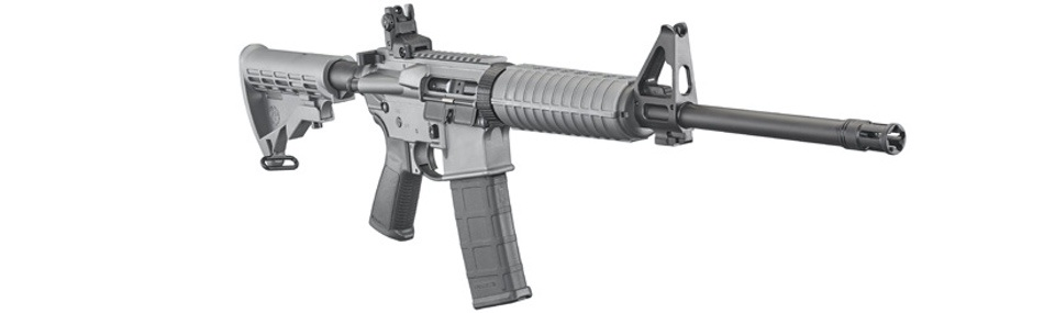 Ruger AR-556 in Tactical Gray