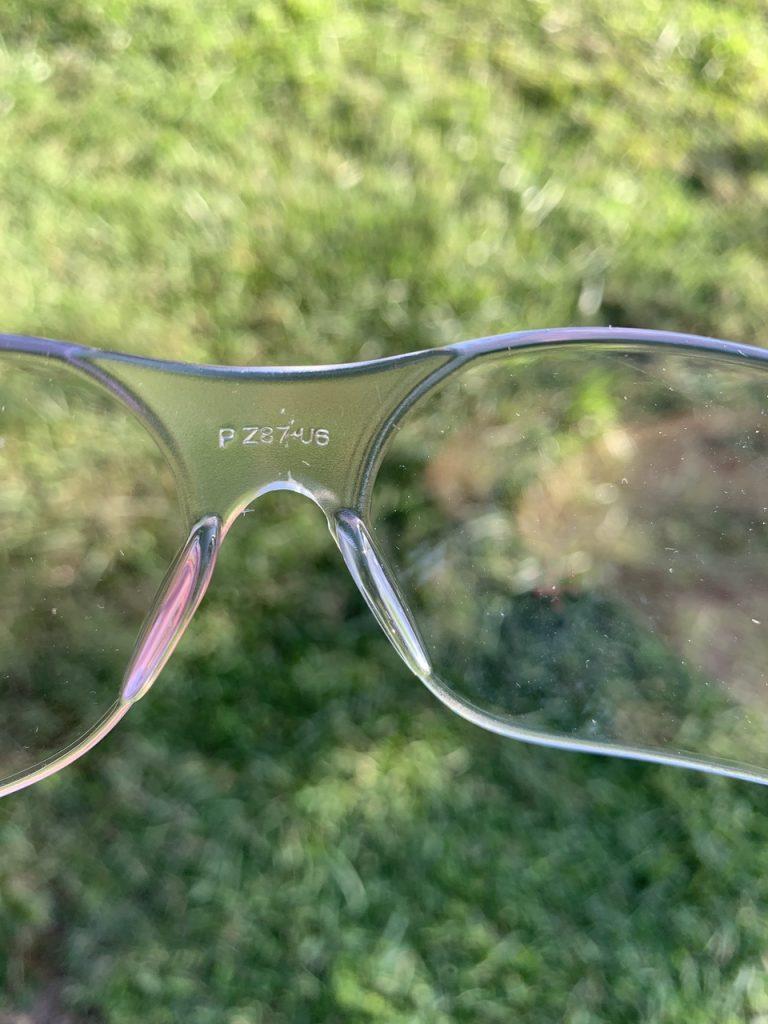 Eyewear Certifications ANSI Z87