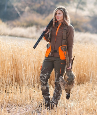 GWG Upland Camo Feature Highland Hunting Apparel