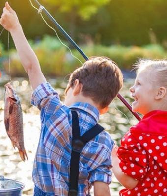 Fun Fishing with Kids