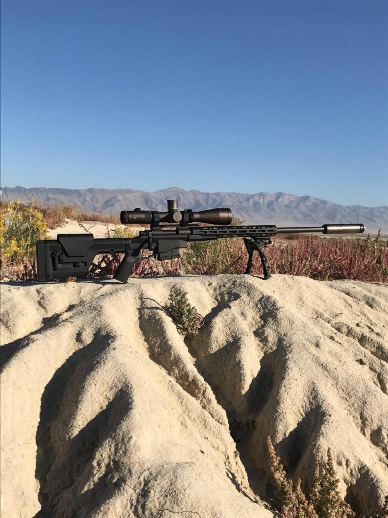 suppressed precision rifle SilencerCo