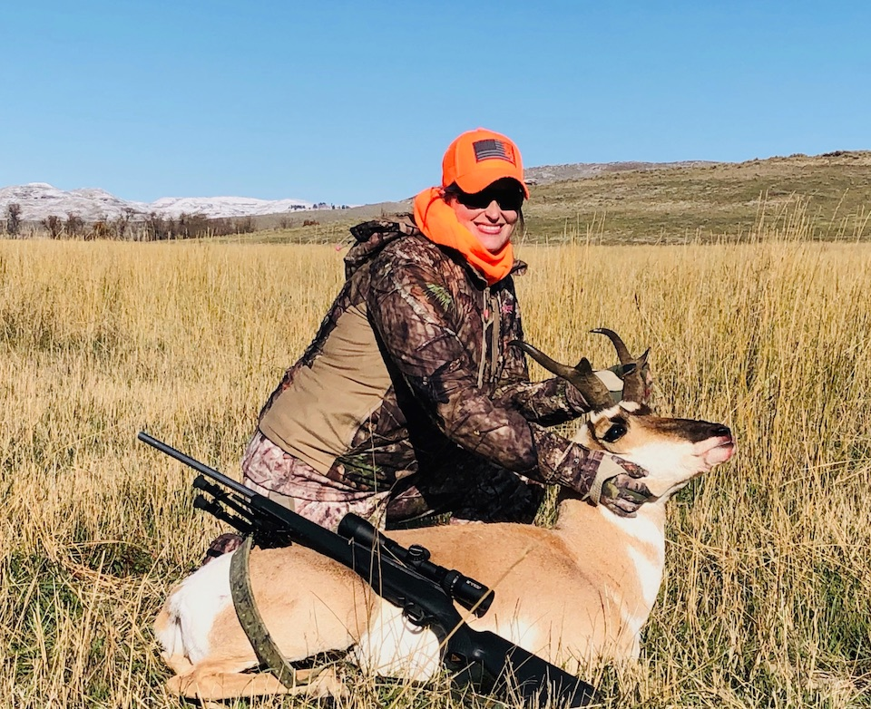 Wyoming Women's Foundation Antelope Hunt Tikka 30.06