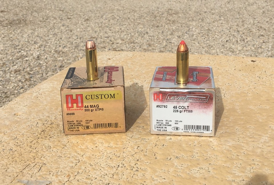 Hornady Lever Evolution 225 grain FTX