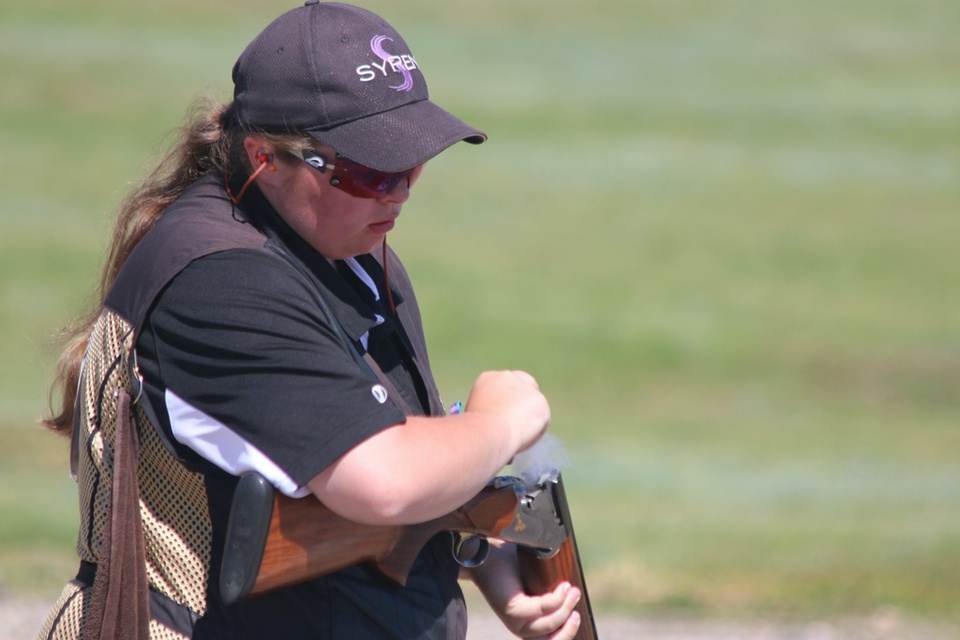 collegiate competition shooter Lindenwood University
