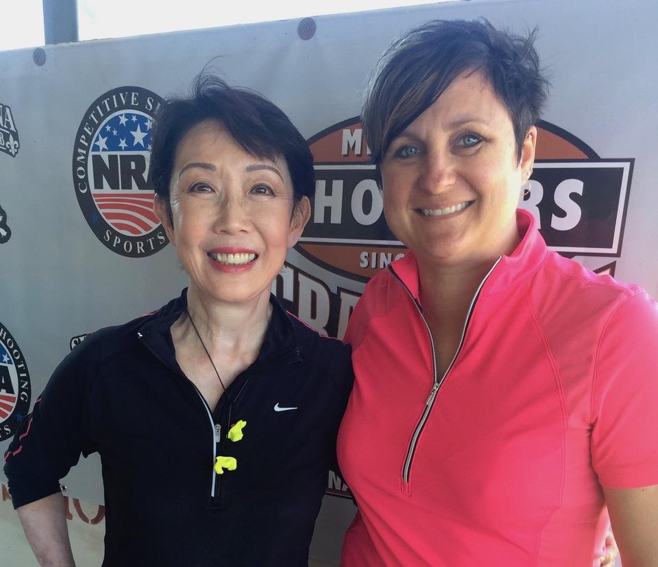Michelle Cerino and Vera Koo