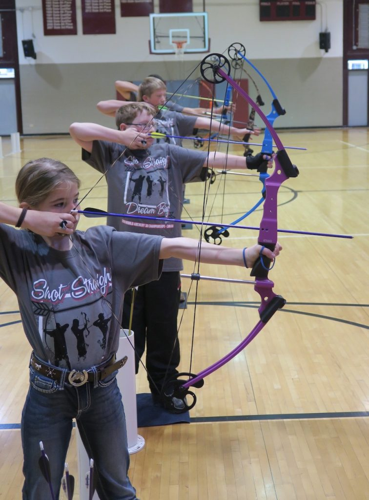 JoCamps Trains Kids to Be Awesome Archers archery
