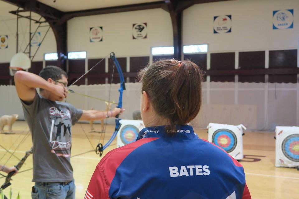 Joella Bates archery