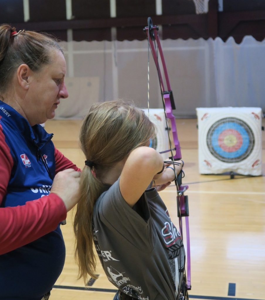 Joella Bates JoCamps Trains Kids to Be Awesome Archers  archery