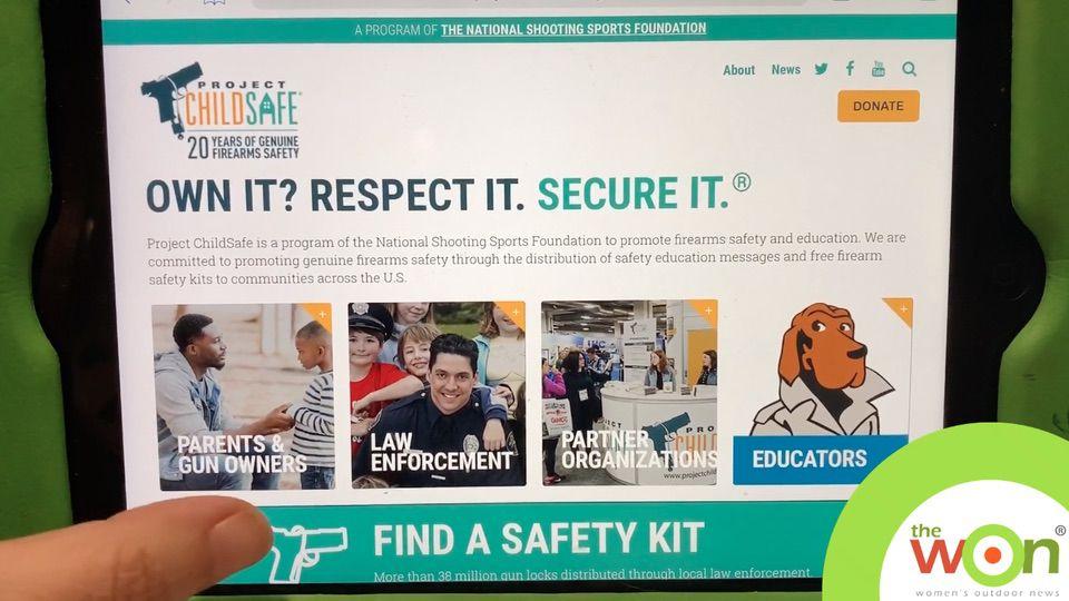 firearms safety Project ChildSafe