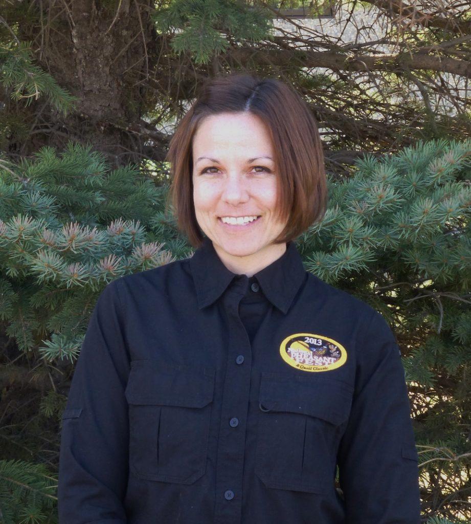 Rachel Bush Pheasants Forever team in North Dakota