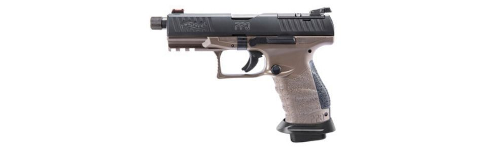Walther Q4 Tac Pro in Coyote Tan