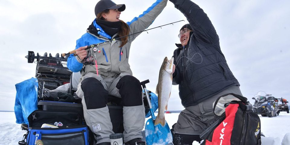 Women Ice Angler Project
