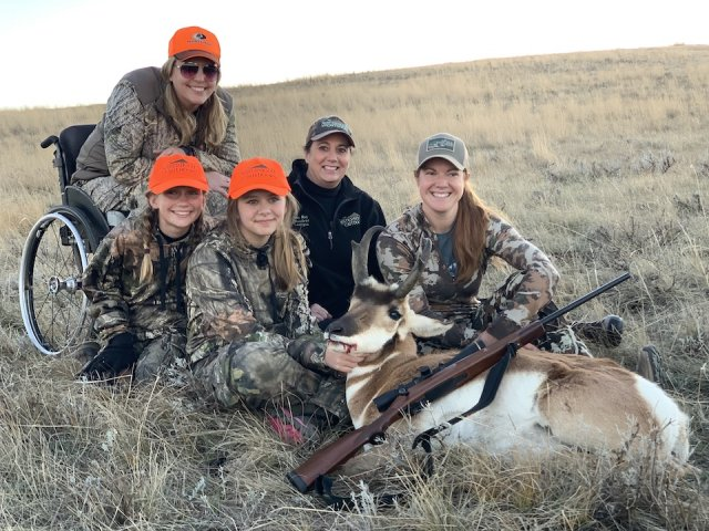Sisterhood of the Outdoors Teen Antelope Hunt