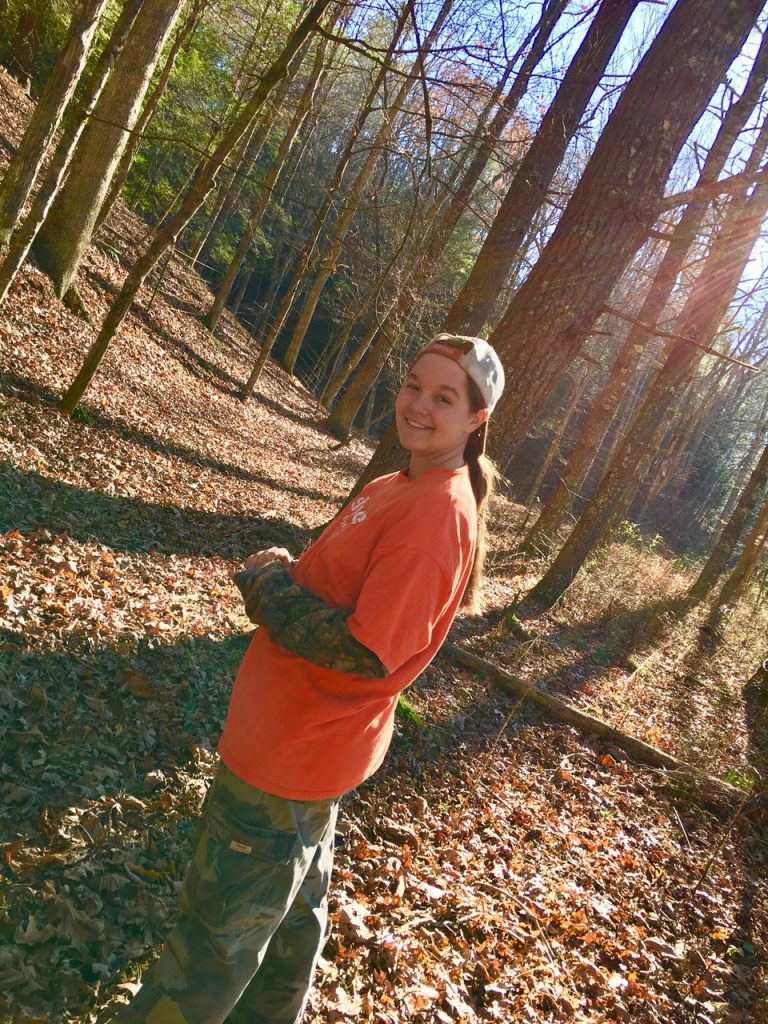 Makayla Scott Hunting Squirrels in Appalachia