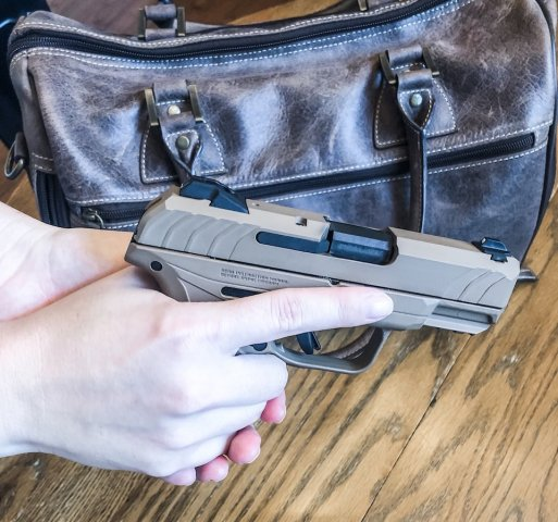 Ruger Security-9 Compact in Dark Earth