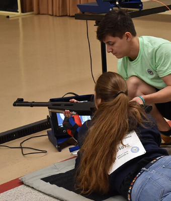 Summer Junior Air Rifle Camps feature