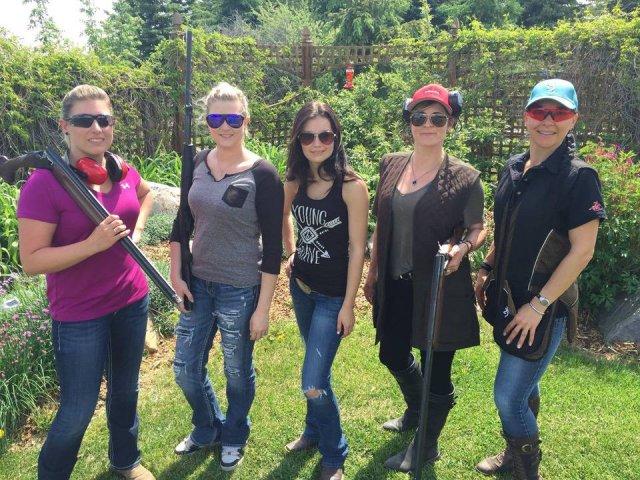 Meet Denean Tomlin, Founder of LadyGuns of Canada shooting