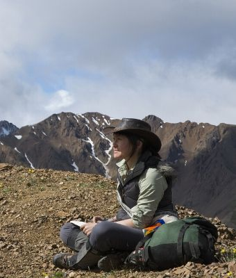 National Parks Foundation woman in park