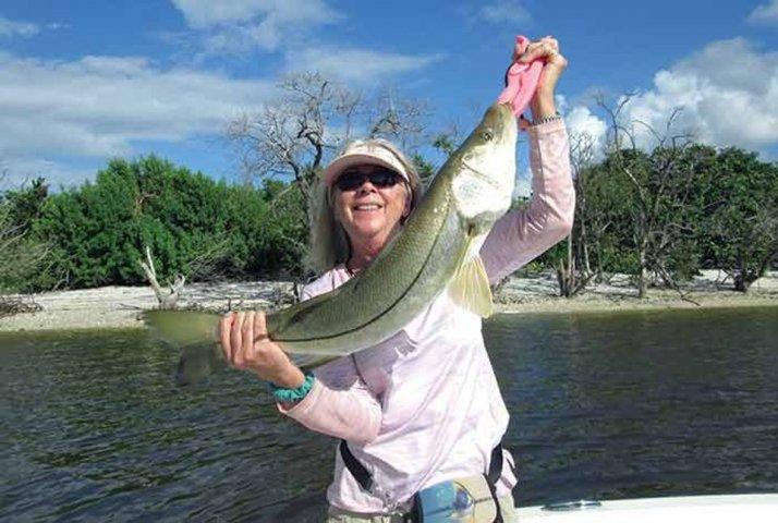 Betty Bauman Ladies, Let's Go Fishing LLGF