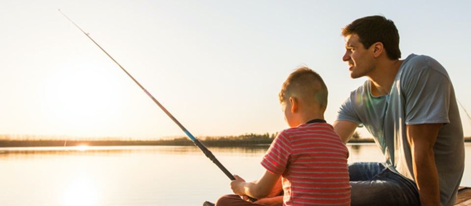 How to Teach a Child to Cast a Fishing Rod TakeMeFishing.org