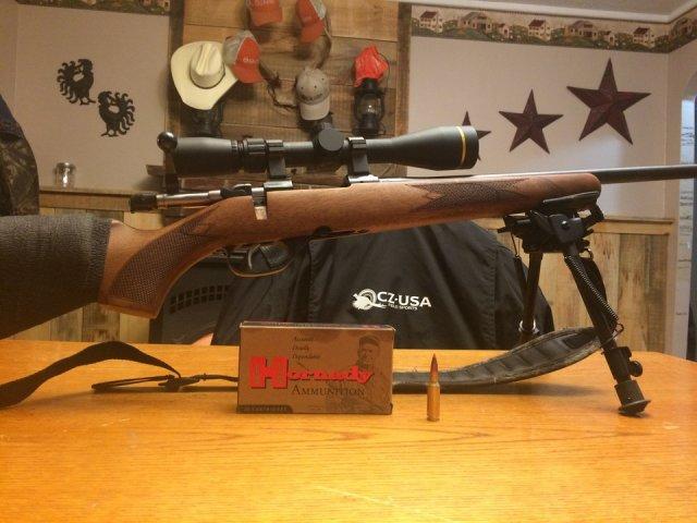 Why I took a Hog Hunting Rifle on a Deer Hunt CZ 527