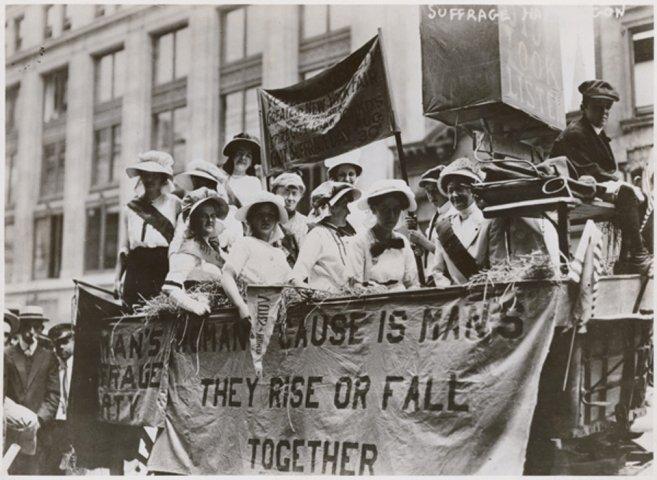 NPF Women in the Parks: The 19th Amendment suffrage