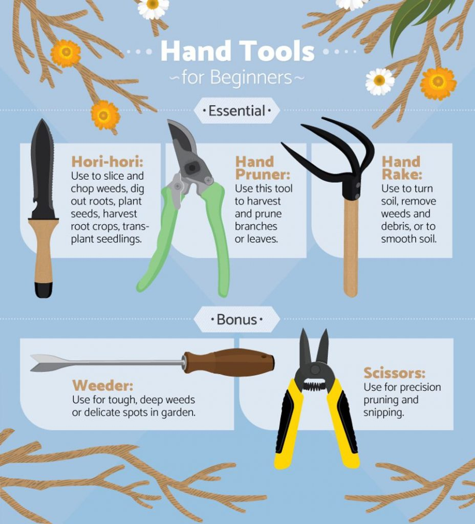 FIX.com Essential Tools for Beginner Gardeners