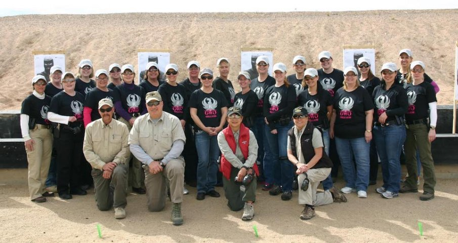 Ladies at Gunsite with Ruger