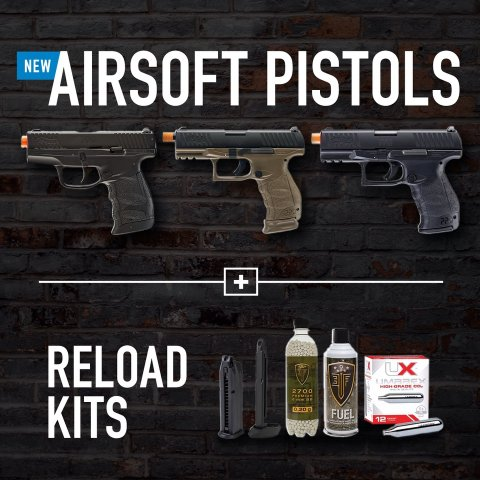 Walther Airsoft Guns #WaltherCQT