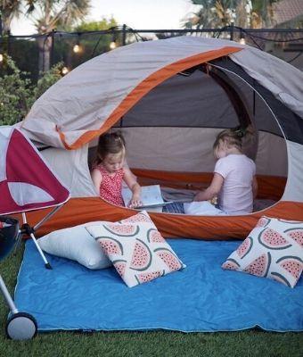 Backyard camping Feature