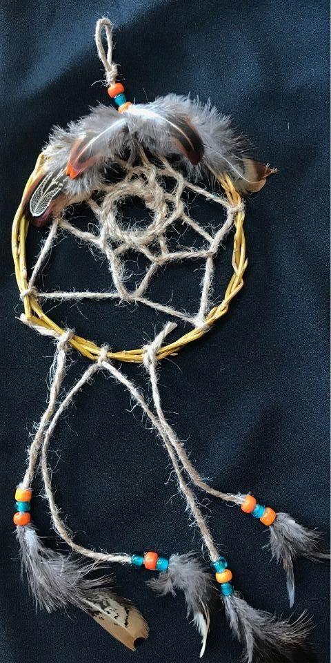 DIY Dreamcatcher Feather Conceal Ziptie Cultural Craft