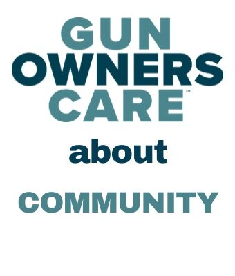 Gun Owners care about community Feature