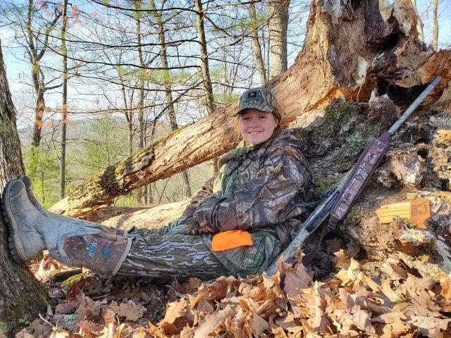 Makayla Turkey Hunt Reminington V3 Turkey Pro