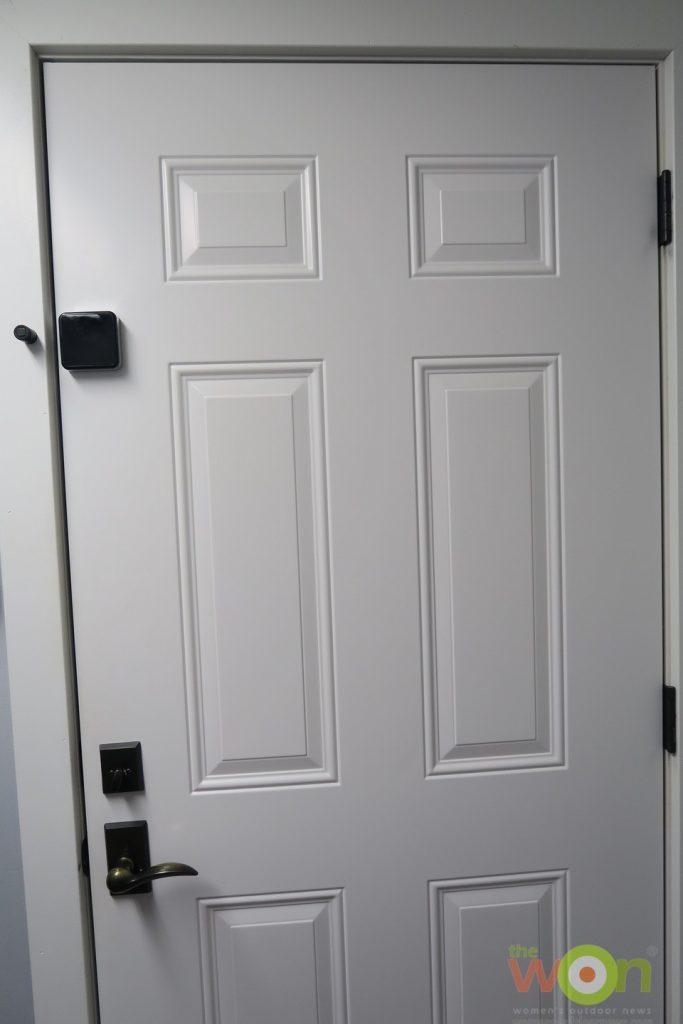 Puck as door alarm