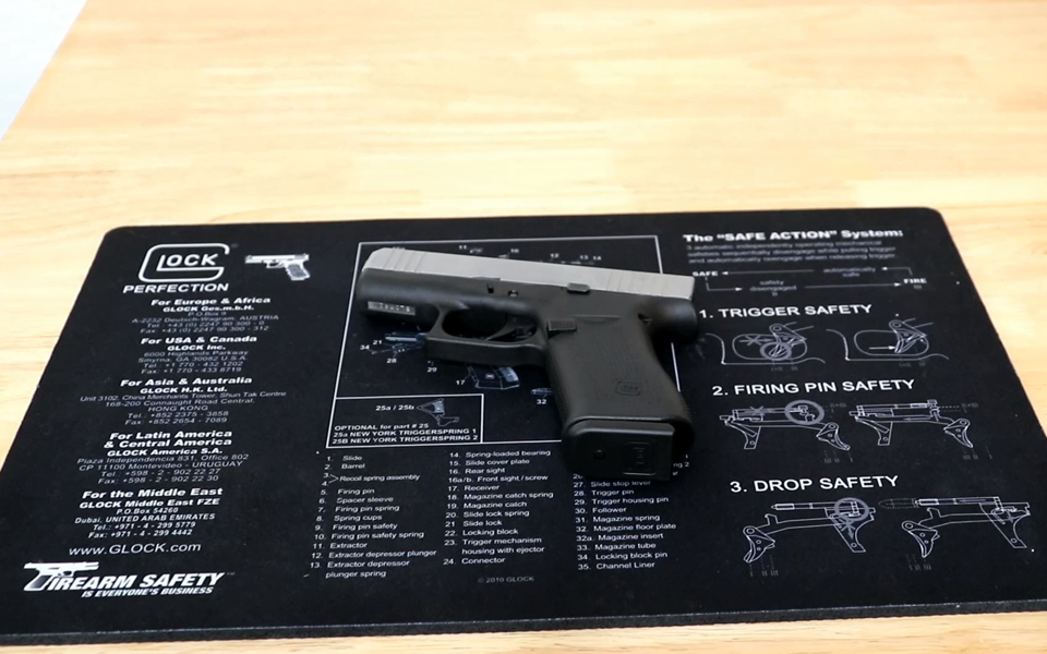 Firearm Maintenance GLOCK43X