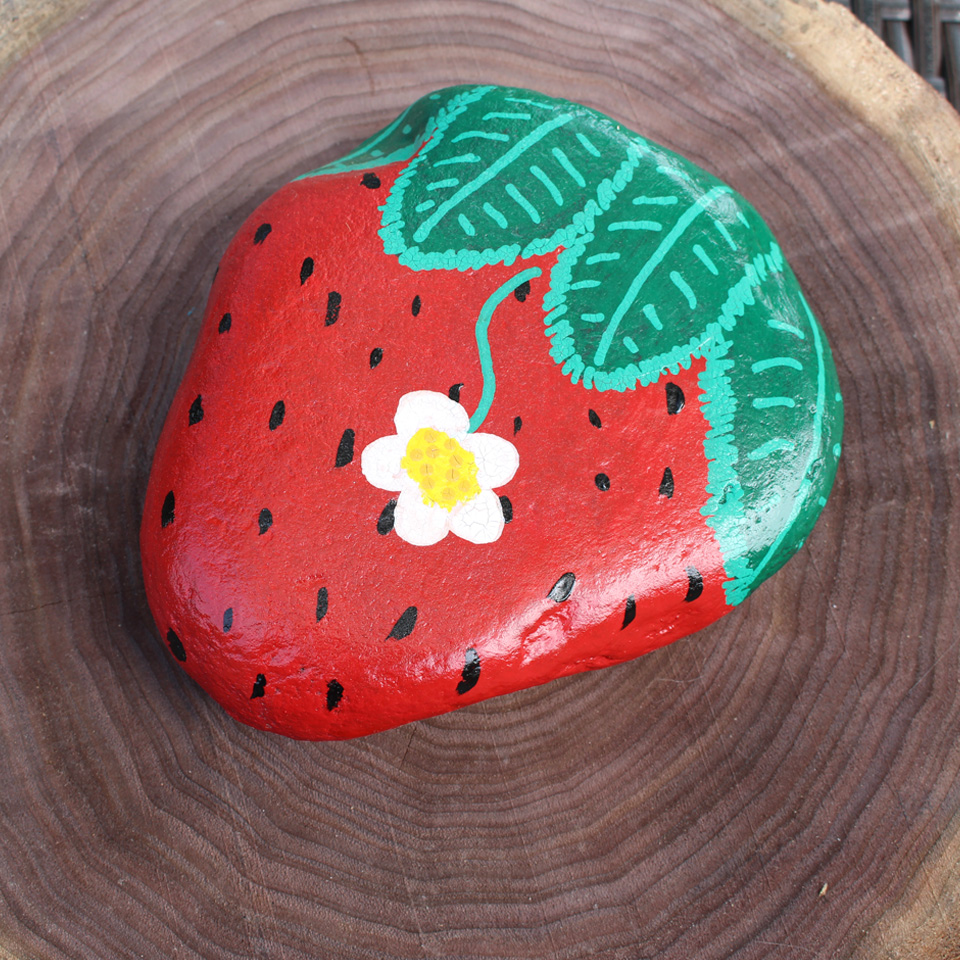 Painted Rock Strawberry